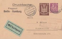 DR Privat-GS Minr.PP73 A2/03 Berlin-Hamburg Gelaufen Berlin 2.7.23 - Deutschland