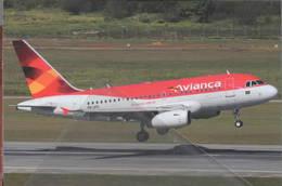 Avianca Airlines Brasil A318 PR-AVL At San Paolo - 1946-....: Era Moderna