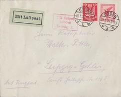 DR Brief Luftpost Mif Minr.345,379 Essen 22.5.26 - Deutschland