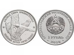 PMR Transnistrija, 2018, Woodpecker 1 Rbl Rubel - Russie