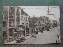 MIDDELKERKE - L'AVENUE LEOPOLD 1932 ( Scan Recto/verso ) - Middelkerke
