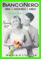 ADVERTISING - PUBLICITÉ - BIANCONERO, SALONS & SPA SPRING 1997 - EDMONTON ALBERTA - GO-CARD No 531 - - Publicité