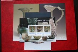 POSTSET Glaswerk Glassware Sheet Museum Van Oudheden NVPH ? 2018 POSTFRIS MNH ** NEDERLAND NIEDERLANDE NETHERLANDS - Period 2013-... (Willem-Alexander)