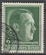 Deutsches Reich    .    Michel    .     672         .       O        .      Gebraucht - Allemagne