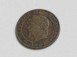 1 Centime 1862 A - Napoléon III Tête Laurée **** EN ACHAT IMMEDIAT **** - France