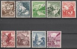 Deutsches Reich    .    Michel    .     675/683         .       O        .      Gebraucht - Deutschland