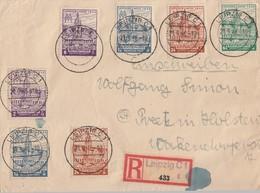 SBZ R-Brief Mif Minr.2x 162, 2x 163, 2x 164,165 Leipzig 21.9.46 Gel. Nach Preetz In Holstein - Sowjetische Zone (SBZ)