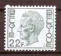 BELGIE * Nr 1945 * Postfris Xx * HELDER WIT PAPIER - 1970-1980 Elström