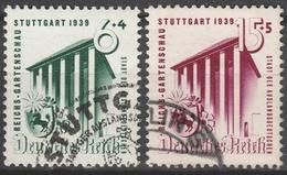 Deutsches Reich    .    Michel    .     692/693         .       O        .      Gebraucht - Deutschland