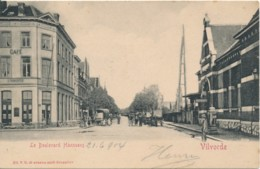 Vilvoorde - Vilvorde Le Boulrvard Hanssens - Ed. V.G. - Station - Activiteiten - Verzonden In 1904 - Vilvoorde