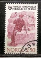 NORVEGE   N°   900  OBLITERE - Norvège