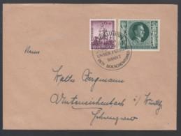 Deutsches Reich Brief 1943 Sonderstempel Braunau Inn Lot 1110 - Deutschland