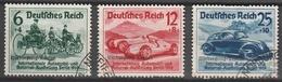 Deutsches Reich    .    Michel    .     695/697         .       O        .      Gebraucht - Gebruikt