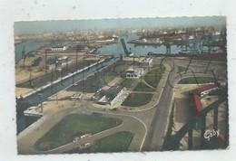 Dunkerque (59) : Vue Aérienne Générale Au Niveau Des écluses Du Port Immeuble En Construction En 1950 PF. - Dunkerque