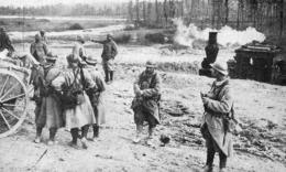 WW1 14-18 Munitions Amenées En Decauville Jusqu'aux Voitures De Chargement  1916 - 1914-18