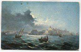 CPA - Carte Postale - Belgique - Paysage De Mer - Bateaux - Tempête - 1923 ( M7345) - België