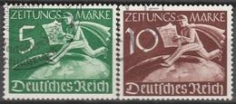 Deutsches Reich    .    Michel    .     738/739          .       O        .      Gebraucht - Allemagne