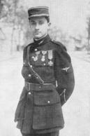 WW1 14-18 Beau Portrait  De Guynemer   1916 - 1914-18