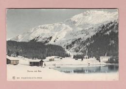 AK GR Davos Am See Ges 13.01.1907 Davos-Filiale Verlag Künzli-Tobler #2661 - GR Grisons