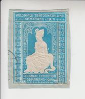 Indonesië Tentoonstellingsvignet Koloniale Tentoonstelling 1914(op Fragment) - Indonesia