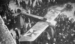 WW1 14-18 Paris Invalides Exposition D'un Fokker 1916 - 1914-18