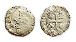 CHARLES VIII Hardi N°2 Bordeaux 1483 - 987-1789 Monnaies Royales