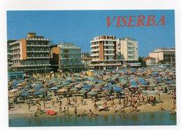 Viserba Frazione Del Comune Di Rimini - Spiaggia E Alberghi - Non Viaggiata - (FDC14232) - Rimini