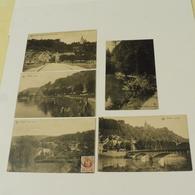 ESNEUX - 5 Cartes : L'Ourthe, Etang Aux Truites,Hôtel Du Pont Et Château Fy, Fonds Martin, Le Pont - Esneux