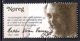 Norway 2007 - The 100th Anniversary Of The Birth Of Halldis Moren Vesaas - Noruega