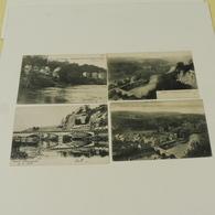 ESNEUX -  4 Cartes :Le Pont,Point De Vue Des Roches, Châlets Des Bords De L'Ourthe, Panorama Pris Des Roches - Esneux
