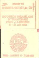 """CARNET 2154-C 1 Sabine """"PHILEXFRANCE"""" Fermé Carnet De 20 Timbres Bas Prix état Parfait Soigné TRES RARE - Usage Courant"""