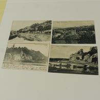 ESNEUX -  4 Cartes : L'Ourthe Et Ave De La Gare, Le Barrage Et Le Mont, La Roche Trouée, Fond De Martin - Esneux
