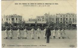 Clermont-Ferrand - Union Des Sociétés De Gymnastique De France, 1907 (Société Ligure Cristoforo Colombo De Gênes ), 1907 - Gymnastique