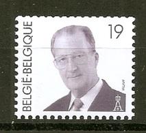 BELGIE * Nr R 84 (2779) ROLZEGEL * Postfris Xx * DOF WIT PAPIER - Coil Stamps