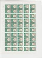 Indonesië Fiscale Zegel Blok Van 50 Zegels(Tempelzegel???) - Indonesia