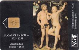 CZECH REPUBLIC - National Gallery  Lucas Cranach,10/93, Tirage 4.000, Used - Czech Republic