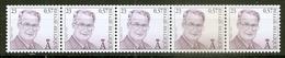 BELGIE * Nr R 102 Strook Met NR (2933) ROLZEGEL * Postfris Xx * - Coil Stamps