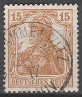 Deutsches Reich    .    Michel    .     100 B      .       O        .      Gebraucht - Gebraucht
