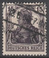 Deutsches Reich    .    Michel    .     101 B      .       O        .      Gebraucht - Deutschland