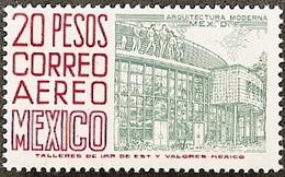 Mexico,  Scott 2018 # C268a,  Issued 1962,  Single,  MNH,  Cat $ 17.00, Building - Mexique