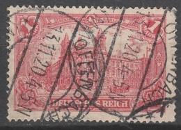 Deutsches Reich    .    Michel    .     A 113 A      .       O        .      Gebraucht - Oblitérés
