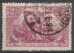 Deutsches Reich    .    Michel    .     115 E     .       O        .      Gebraucht - Deutschland