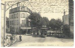 Clermont-Ferrand Chamailières - ( Tram Avec Réclame Chocolat Louit )  , 1904 - Clermont Ferrand