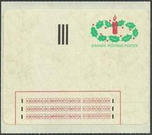 CANADA 1983 CHRISTMAS SELF ADHESIVE PREPAID SINGLE LABEL MNH - 1952-.... Reign Of Elizabeth II
