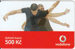 CZECH REPUBLIC - 2 Boys, Vodafone Prepaid Card 500 Kc, Exp.date 18/05/09, Used - Czech Republic