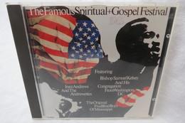"""CD """"The Famous Spiritual + Gospel Festival"""" 1965 - Gospel & Religiöser Gesang"""