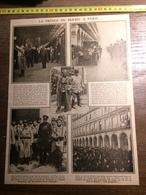 DOCUMENT 1910/1920 LE PRINCE DE SERBIE A PARIS - Old Paper