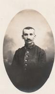 Militaria : Extrait De Carte-photo. : Soldat : 75é Régt. - Format 10cm X 5,8cm - Guerre 1914-18