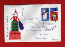 Great Britain FDC: 1966 - CHRISTMAS.   Vedi Descrizione. - FDC