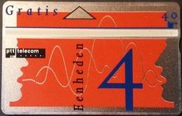 Telefonkarte Niederlande - L&G - Gratis - 4 Units - Werbung - 205A - öffentlich